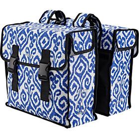 Basil Mara XL - Sac porte-bagages - 35l bleu/blanc